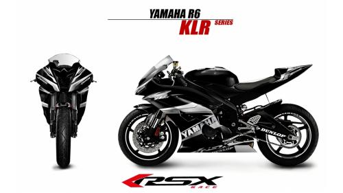 YAMAHA R6 2006-2007 KLR-NO