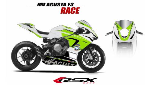 MV AGUSTA F3 RACE BLACK