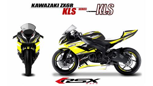 KAWASAKI ZX6R 2007-08 KLS-NO