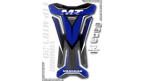 Protège réservoir YAMAHA MT09