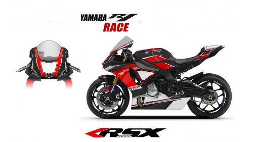 YAMAHA R1 2015 RACE