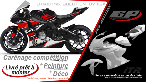 GRAND PRIX PACK YAMAHA R1 2020 BLACK