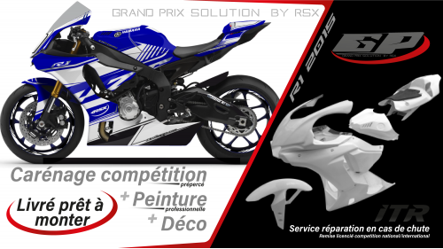 GRAND PRIX PACK YAMAHA R1 2020 RAIDER BLUE