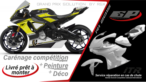 GRAND PRIX PACK YAMAHA R1 2020 RACE BLACK