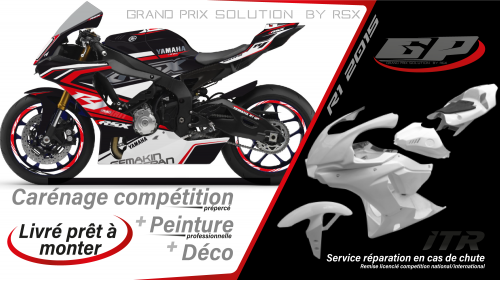 GRAND PRIX PACK YAMAHA R1 2020 SPIRIT BLACK