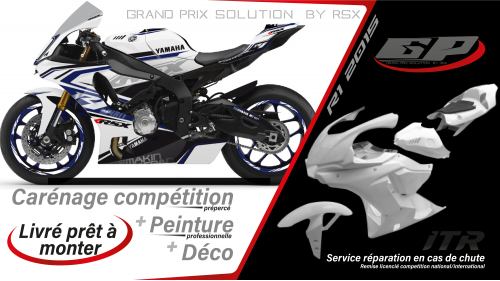 GRAND PRIX PACK YAMAHA R1 2020 SPIRIT WHITE
