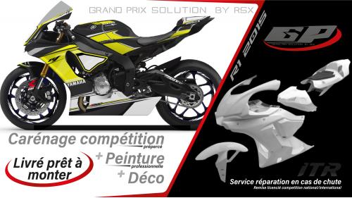 PACK GRAND PRIX YAMAHA R1 2015-19 RACE NOIR