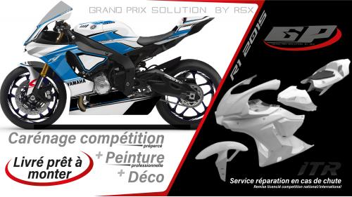 GRAND PRIX PACK YAMAHA R1 2015-19 RACE WHITE