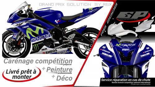 GRAND PRIX PACK YAMAHA 2008 et + MOVISTAR BLUE