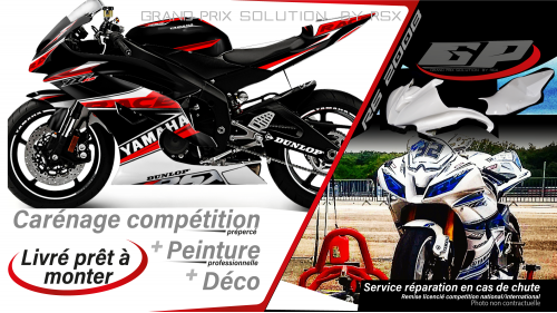 GRAND PRIX PACK YAMAHA 2008 et + RACE BLACK