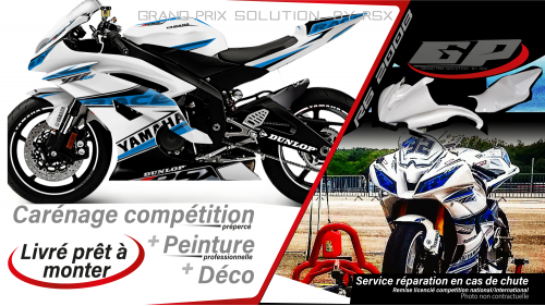 GRAND PRIX PACK YAMAHA 2008 et + RACE WHITE