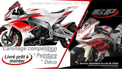 GRAND PRIX PACK APRILIA RSV4-2009 ET +RACE-WHITE