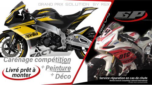 PACK GRAND PRIX APRILIA RSV4-2009 ET + RACE-BLANC