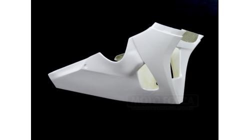 Fiberglass racing low part for R1 2020-2021 racing exhaust