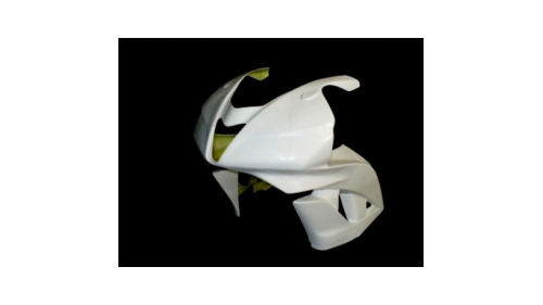 Racing fiberglass upper part version 1 CBR600RR 2007-2012