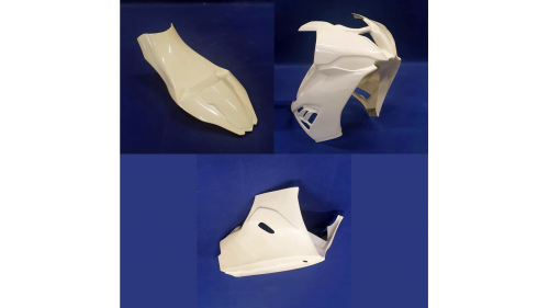 Full poly racing fairing S1000RR 2019-2020 SEBIMOTO fiberglass