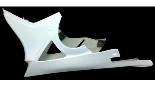 Fiberglass low part S1000RR 2012-2014 for original exhaust
