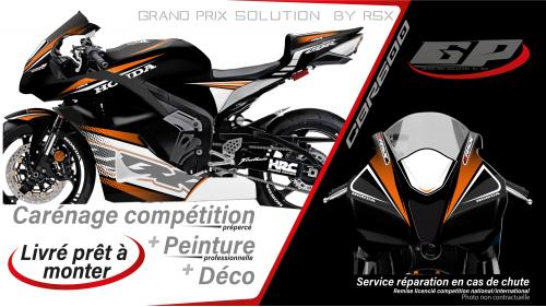 GRAND PRIX PACK CBR600 2007-09 RACE BLACK