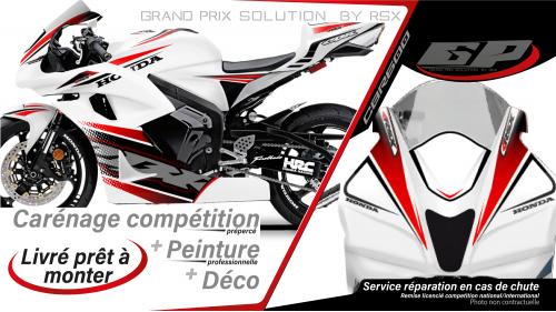 PACK GRAND PRIX CBR600 2007-08 XRACE BLANC