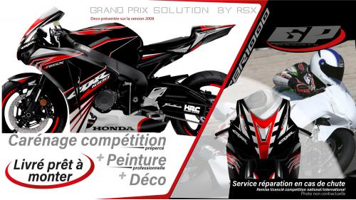 GRAND PRIX PACK CBR1000 2008 KLS BLACK
