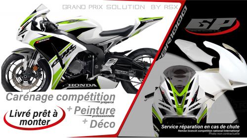 GRAND PRIX PACK CBR1000 2012-16 KLS WHITE