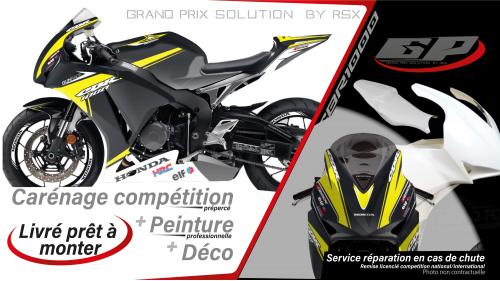 GRAND PRIX PACK CBR1000 2012-16 GUNRACE BLACK