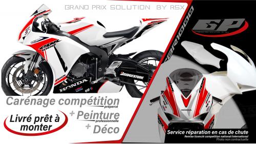 GRAND PRIX PACK CBR1000 2012-16 GUNRACE WHITE