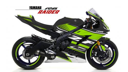 YAMAHA R6 2017 RACE-NO