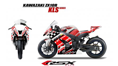 KAWASAKI ZX10R 2011 et + KLS-BL