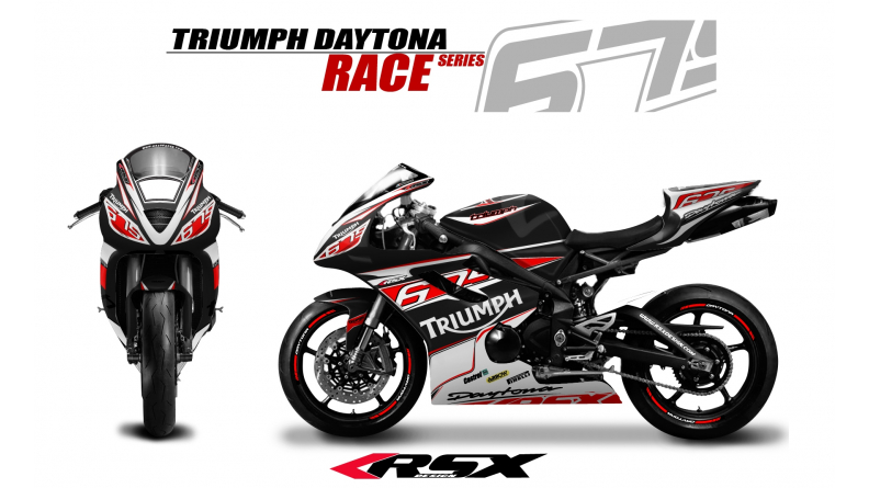 Graphic Kit Triumph Daytona 675 2006 12