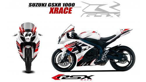 SUSUKI GSXR 1000 2009 et+ XRACE-BL