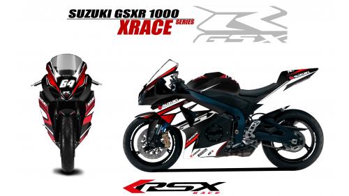SUZUKI GSXR 600 2008-10 XRACE-NO
