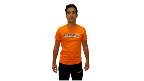 T-SHIRT OK1, ORANGE XL