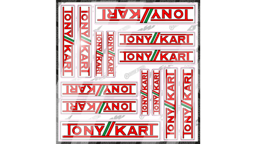 kit sticker Triumph daytona