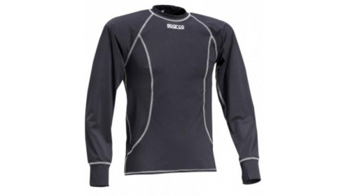 Sparco T-Shirt Basic black long sleeve