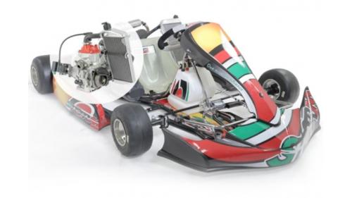 13 ans - Kart STORM Rotax Nationale FFSA (21 cv)