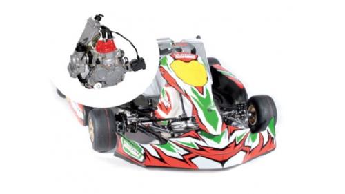 13 ans - Kart V-MAX Rotax National FFSA (21 cv)