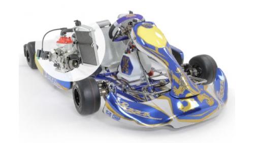 13 ans - Kart Praga Rotax Nationale FFSA (21 cv)