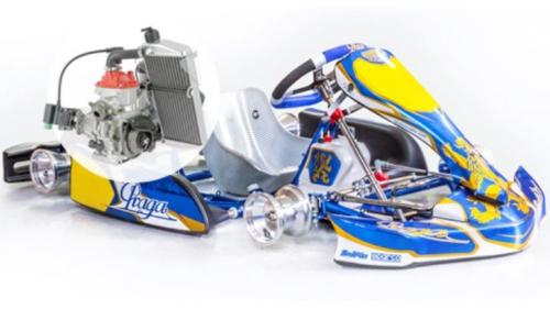 11 - 15 ans - Kart Praga Minime/Cadet IPK Rotax Minimax