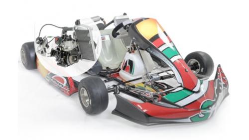 15 ans - Kart STORM Rotax Max 125 cc (28,5 cv)