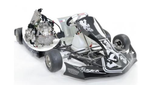 15 ans - K15 ans - Kart PRAGA DARK Rotax Max 125 cc (28,5 cv)art PRAGA DARK Parilla X30 (30 cv)