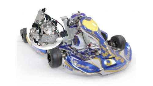 13 ans - Kart Prag15 ans - Kart PRAGA Rotax Max DD2 Evoa Rotax Nationale FFSA (21 cv)