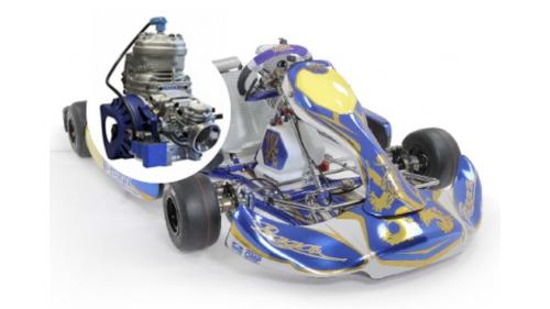 15 ans - Kart PRAGA Challenge Super X30 (30cv)