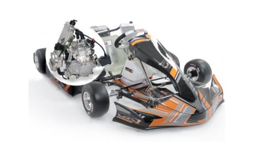 15 ans - Kart OK1 Rotax Max 125 cc (28,5 cv)