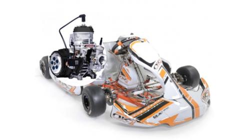 15 ans - Kart OK1 125 boite 6 vitesses Cat KZ