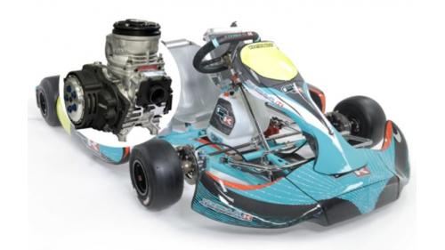 15 ans - Kart FORMULA K 125 boite 6 vitesse Cat KZ
