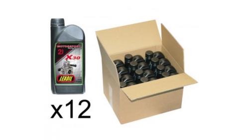 Huile LEXOIL X30 - 12 x 1 litre