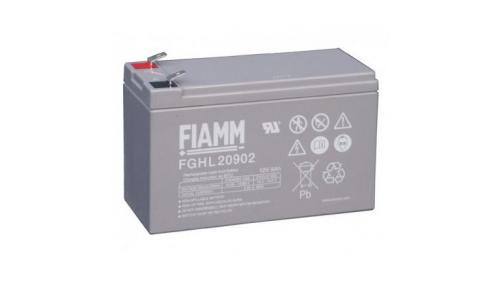 Batterie 12 volts 9,0 Ah - FIAMM FGHL (pour cosse plate)