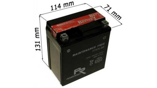 Batterie 12V - YTX7L-BS - Pour moteur TM