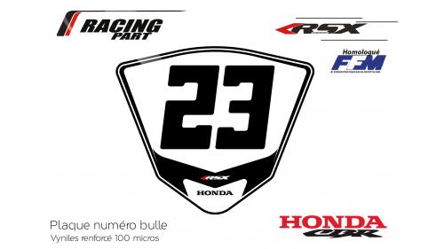 model plate number
